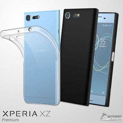 AU4.99 • Buy Matte Soft  Gel TPU Jelly Case Cover For Sony Xperia XZ Premium