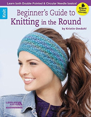Kristen Omdahl-Beginner`S Guide To Knitting The Ro  BOOK NEW • 9.33£