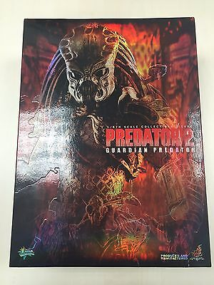 AU482.29 • Buy Hot Toys MMS 126 Predators Guardian Predator 2 14 Inch Action Figure USED