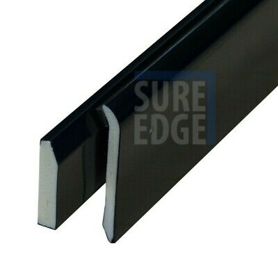 Drip Trim Edge For EPDM Rubber Roofing, 2.5 Metres, U-PVC Flat Roof Gutter Trim • 17.27£