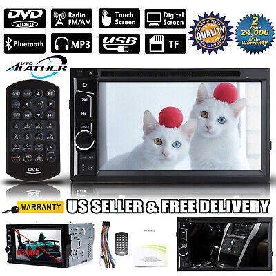 $117.89 • Buy US TouchScreen Car Stereo Head Unit DVD/CD Player 6.2'' 2Din In Dash For Hyundai