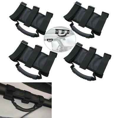 AU35.88 • Buy 4pcs Grab Handles Grip Handle For Jeep Wrangler YJ TJ JK JKU Sports Sahara Black