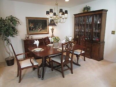 $1700 • Buy Genuine Mahogany Dining Room Set. Purchased In 1945 One Owner Great Condition.