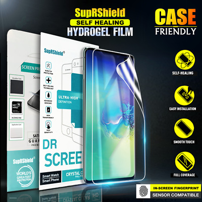 AU7.95 • Buy For Samsung Galaxy S10 S9 S8 Plus Note 8 9 10 20 Ultra HYDROGEL Screen Protector