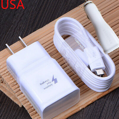 $ CDN10.77 • Buy Original Fast Charging Charger USB Cable Car Charger For Samsung Galaxy S7 Edge