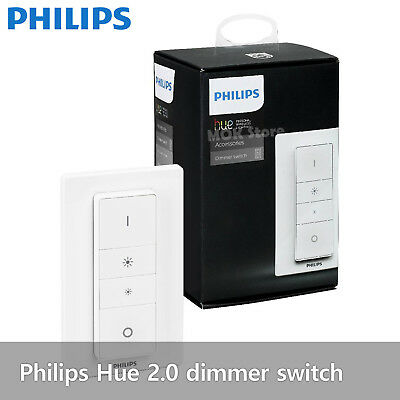 AU43.48 • Buy Philips Hue 2.0 Dimmer Switch - Remote Control Battery Powered