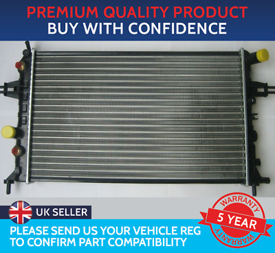 £36.16 • Buy Radiator To Fit Vauxhall Astra G Mk4 Zafira A Mk1 Petrol Automatic With Air Con