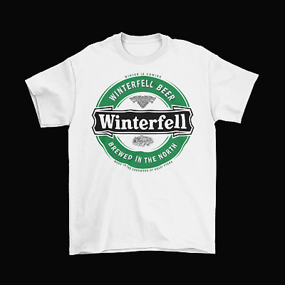 Winterfell Beer Game Of Thrones T-Shirt Unisex Cotton Funny Adult Heineken New  • 14.23£