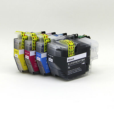 AU27.50 • Buy 4 Generic Dye Base LC3319XL Lc3317HY Ink For Brother MFC-J5730dw J5330dw J6530dw