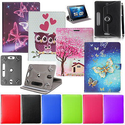 £4.49 • Buy Universal Wallet Book Cover Case For Lenovo Tab 2 A10-30 Tablet &Tempered Glass