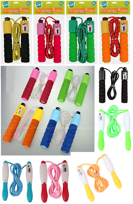 £6.99 • Buy Kids Skipping Rope With Counter Children Exercise Jumping Game Fitness Activity
