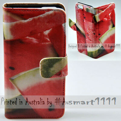 AU14.98 • Buy For Sony Xperia Series - Watermelon Theme Print Wallet Mobile Phone Case Cover