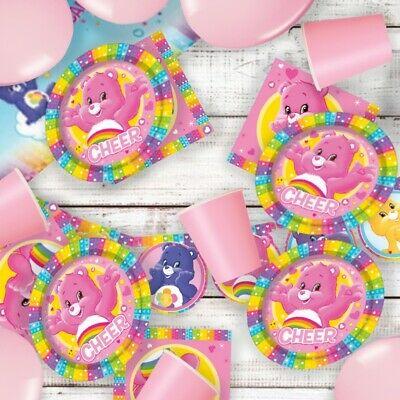 £2.49 • Buy Care Bears Party Supplies Tableware, Decorations, Banners, Balloons, Invites