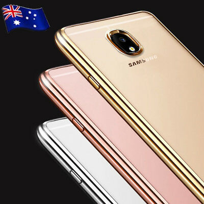 AU7.99 • Buy For Samsung Galaxy J2 J3 J5 J7 Pro Soft Gel Clear Transparent Slim Case Cover