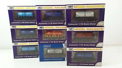 Dapol 6 Wheel Milk Tank Wagons - Your Choice Of Model - Works With Hornby Trains • 16.99£