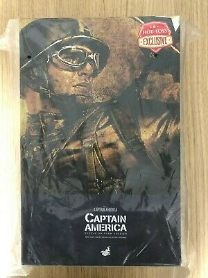 $ CDN795.10 • Buy Hot Toys MMS 180 Captain America (Rescue Uniform Version) Chris Evans Steve NEW