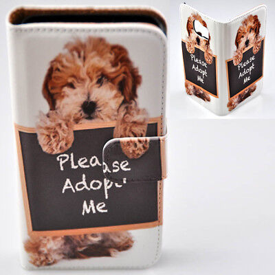 AU14.98 • Buy For OPPO Series - Havanese Dog Theme Print Wallet Mobile Phone Case Cover