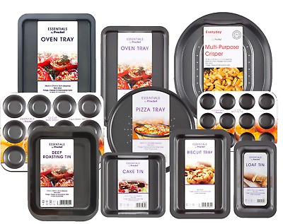 Premium Non Stick Bakeware Sets Oven Tray Sheet Cake Tin Loaf Roast Pizza Pan  • 2.49£