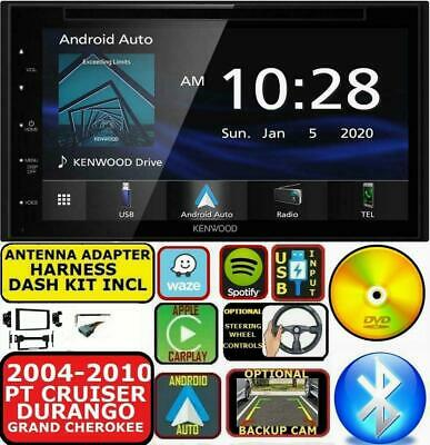 $469.99 • Buy 2004-10 Pt Cruiser Durango Grand Cherokee Jvc Kenwood Gps Carplay Car Stereo