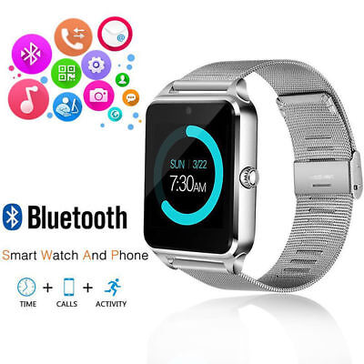 $ CDN39.31 • Buy  NEW Bluetooth Touch Screen Smart Watch Q18 For Android Mobiles & IPhone UK