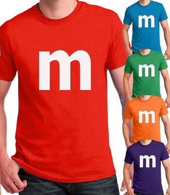 $14.95 • Buy M Candy T-shirt Halloween Costume Easy Cosplay Chocolate Group & Family M Shirts
