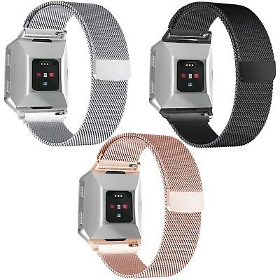 $ CDN14.45 • Buy Fitbit Ionic Replacement Magnetic Loop Strap Stainless Steel Wrist Band