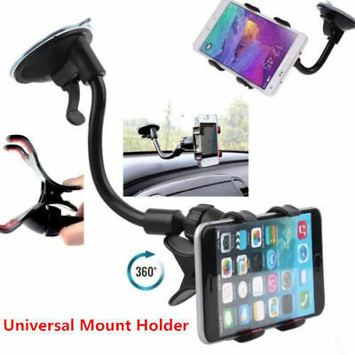 $7.55 • Buy Universal 360° Car AUTO ACCESSORIES Rotating Phone Windshield Mount GPS Holder
