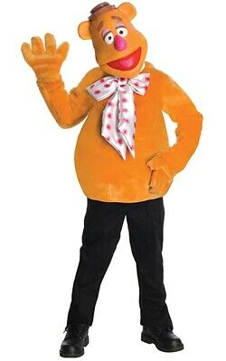 Licensed Fozzie The Bear Muppets Child Boys Fancy Dress Halloween Costume • 28.28£
