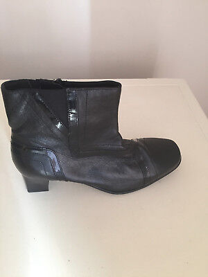 Pavers Women Ankle Leather Boots  Size 5 Brand New • 39.99£