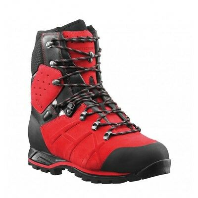 Haix Protector Ultra Class 2 Red Chainsaw Boots • 210£
