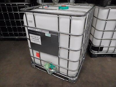 1000 Litre New IBC Food Cert IBC Storage Tank Cider Container Fuel Water • 275£