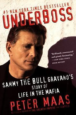UNDERBOSS By Peter Maas FREE SHIPPING Paperback Book Mafia Biography True Crime • 6.72£