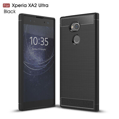 AU14.50 • Buy For Sony Xperia 1 5 10 10 Plus/ XA1 Plus / XA1 Ultra XA2 Ultra Carbon Case Cover