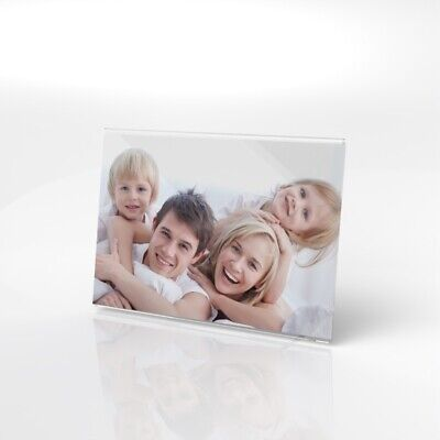 Acrylic Photo Frame / Clear Picture Frame / Image Holder / Photo Display Stand • 6.99£