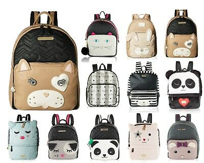 a248099a99 Betsey Johnson Large School Travel Luggage Backpack Purse Bookbag Tote Bag  • 59.99