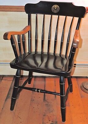 Brilliant S Bent Bros Colonial Spindle Back Arm Chair Episcopal Acdemy Pa Guc Interior Design Ideas Clesiryabchikinfo