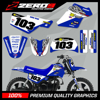 $ CDN76.64 • Buy Yamaha Pw 50 Graphics Kit Peewee Graphics Mini Bike Graphics Yamaha Of Troy