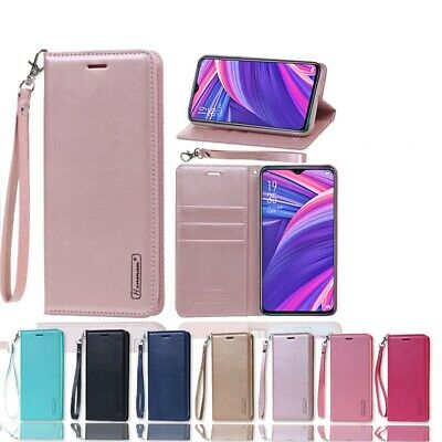 AU11.95 • Buy Hanman Wallet Leather Flip Case Cover For Oppo AX5S AX7 R17 Pro F1S A57 A77 A73