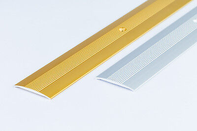 38mmx1M COVER - STRIP ANODISED-ALUMINIUM-DOOR-FLOOR-BAR-TRIM-THRESHOLD - Carpet • 4.99£