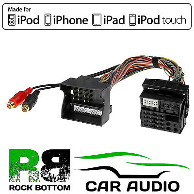 CTVFOX002 Ford Focus 2004-11 Car Aux In Input MP3 IPhone IPod Interface Adaptor • 34.95£