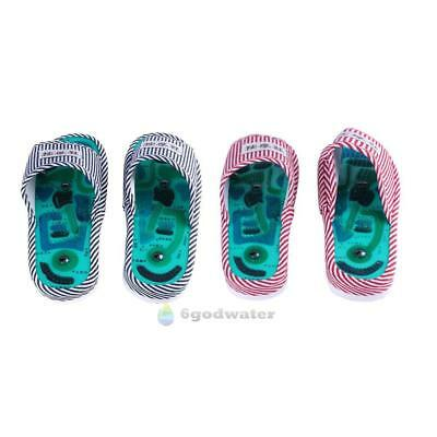 014d0351efda 1Pair Foot Massage Slippers Health Magnetic Acupuncture Feet Care Massager  Shoes • 10.94