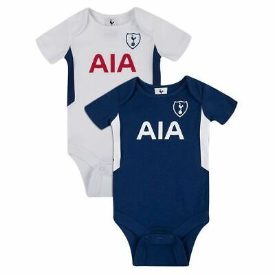 2 Pack Football Baby Bodysuits VARIOUS TEAMS Age 0-3 Months • 15.50£