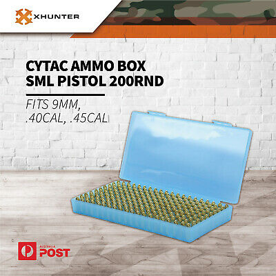 AU29.25 • Buy Cytac Ammo Box Case Shot Shell Holder Container For 9Mm, .40Cal, .45Cal