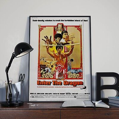 £7.99 • Buy Bruce Lee Enter The Dragon Film Kung Fu Print Poster Picture Martial Arts A3 A4