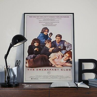 The Breakfast Club Movie Film Cinema Print Poster Picture A3 A4 80's Posters • 3.92£