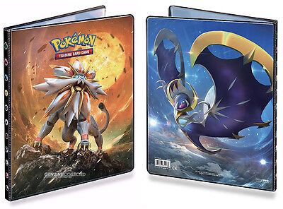 AU33.95 • Buy 9-Pocket Solgaleo & Lunala Pokemon 180-Card Cap. Portfolio Folder Album Storage