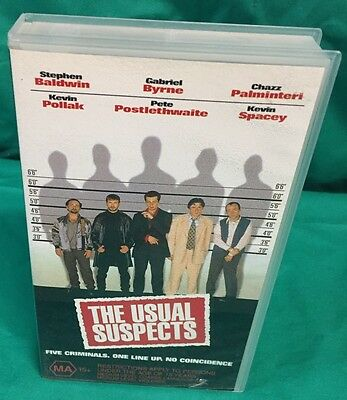 AU24.99 • Buy THE USUAL SUSPECTS Kevin Spacey VHS Video Tape -NEW & SEALED!