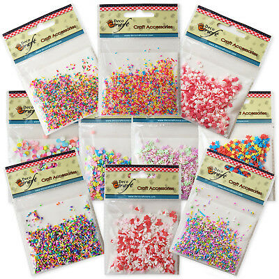 £2.25 • Buy 10g Decoden FAKE Faux Clay Sugar Sprinkles.  Phone Decoration. Craft Use Only