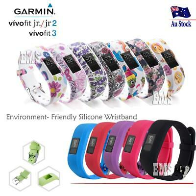 AU4.25 • Buy Replacement Wrist Band For GARMIN VIVOFIT 3 JR JUNIOR JR 2 Fitness Wristband