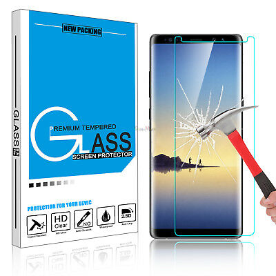 $ CDN5.05 • Buy For Samsung Galaxy Note 8 Tempered Glass Screen Protector 9H HD Film Cover IROSE